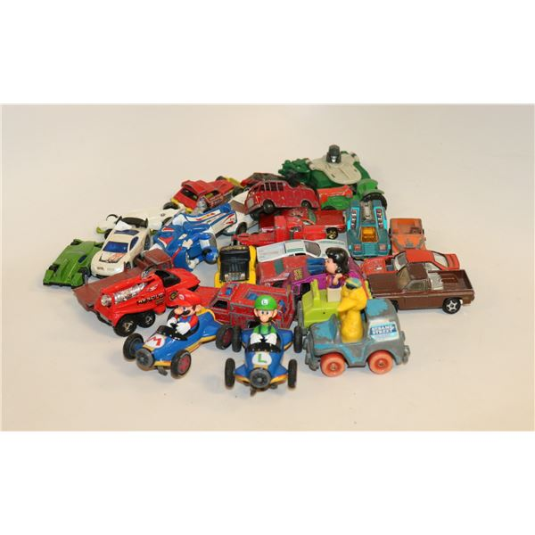 LOT OF ASSORTED TOY CARS