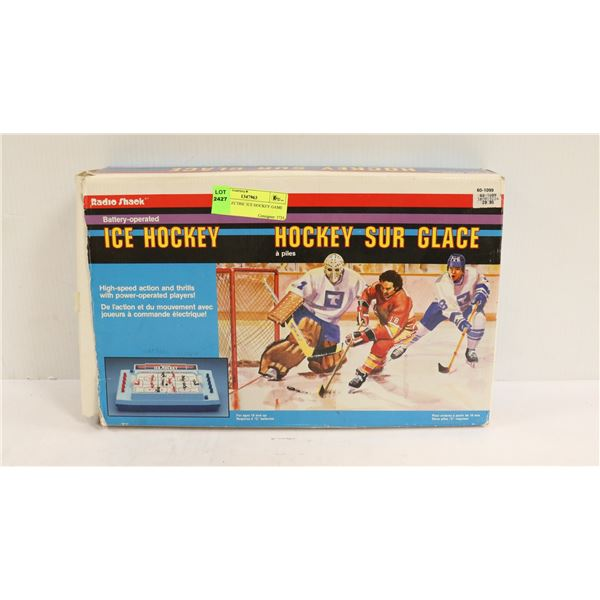 1980S ELECTRIC ICE HOCKEY GAME IN BOX