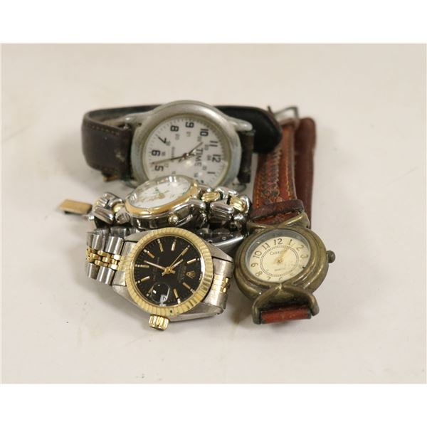 LOT OF FOUR WATCHES INC REPLICA ROLEX