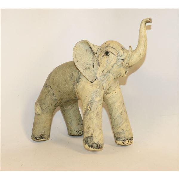 COMPOSITE ELEPHANT STATUE HAND MADE