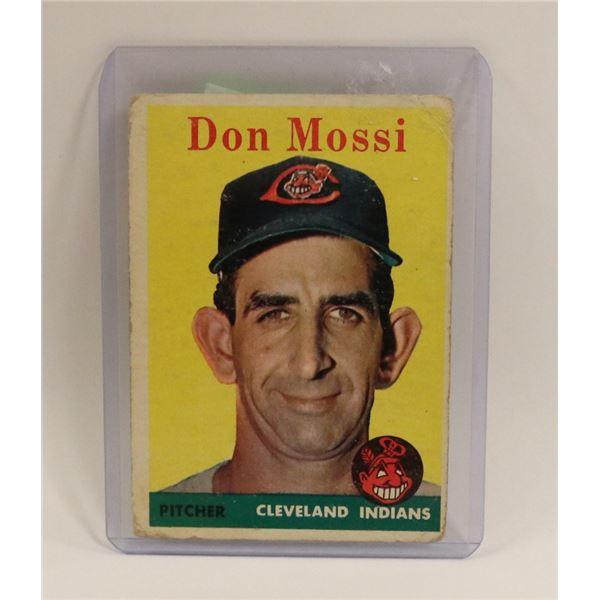 1959 DON MOSSIE BASEBALL CARD