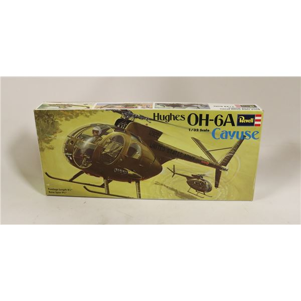 REVELL HUGHES CAYUSE HELICOPTER MODEL KIT IN BOX