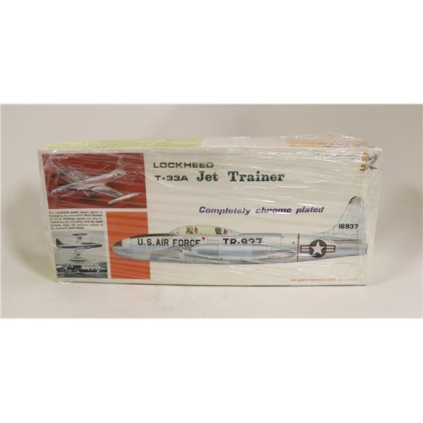 HAWK PLATED T33 TRAINER MODEL KIT IN BOX