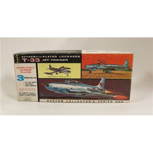HAWK LOCKHEED T33 US AIRFORCE JET TRAINER IN BOX