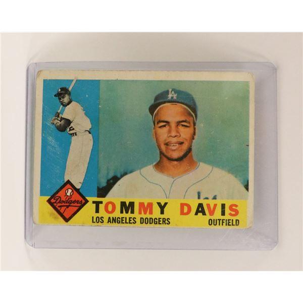 1960 TOMMY DAVIS ROOKIE CARD