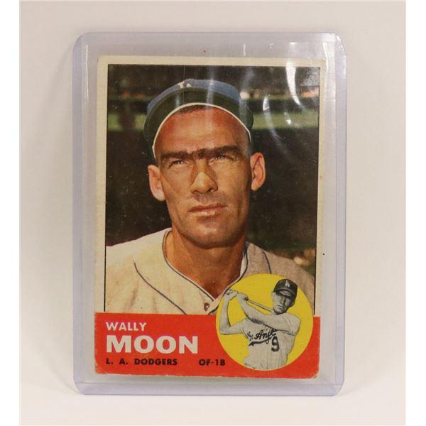 1963 WALLY MOON BASEBALL CARD