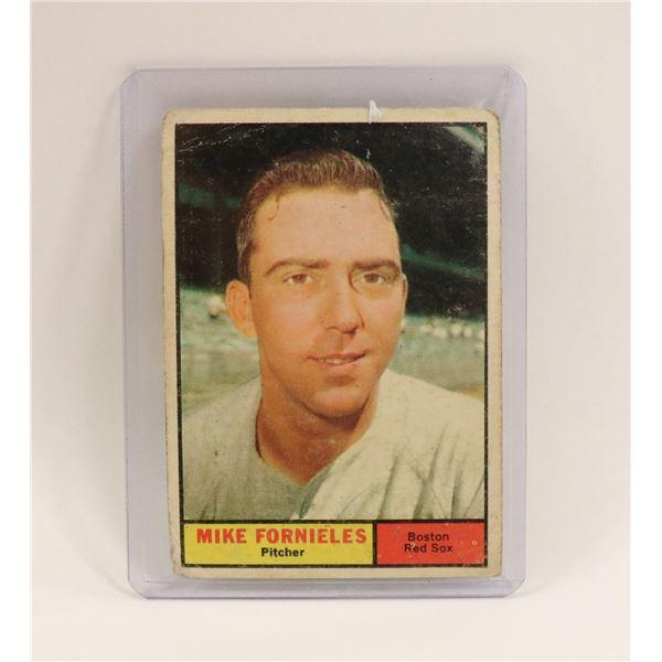 1961 MIKE FORNIELES BASEBALL CARD