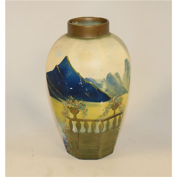 ANTIQUE HAND PAINTED BRENTLEIGH VASE