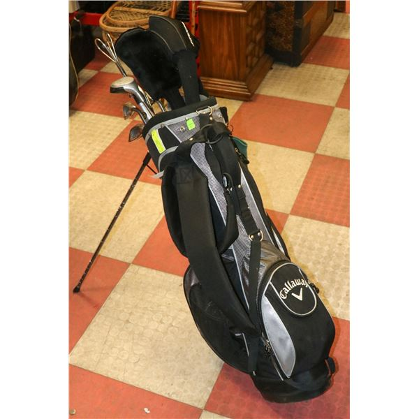 SET OF LADIES SWIFT GOLF CLUBS WITH CALAWAY