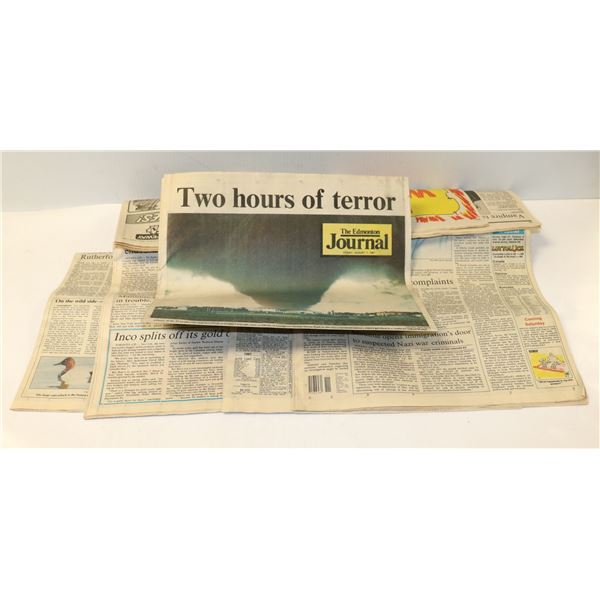 1987 EDMONTON JOURNAL SPECIAL TORNADO EDITION