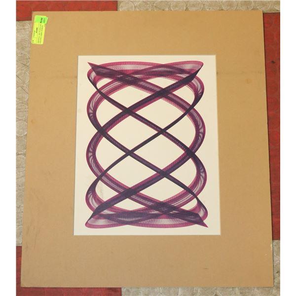ORIGINAL ART PLEXUS BY KERRY STRAND LARRY JENKINS