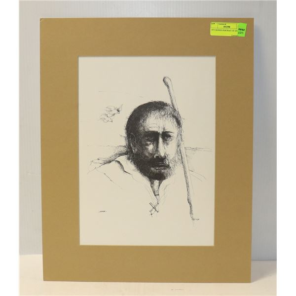 1975 SIGNED PORTRAIT OF ANDREW