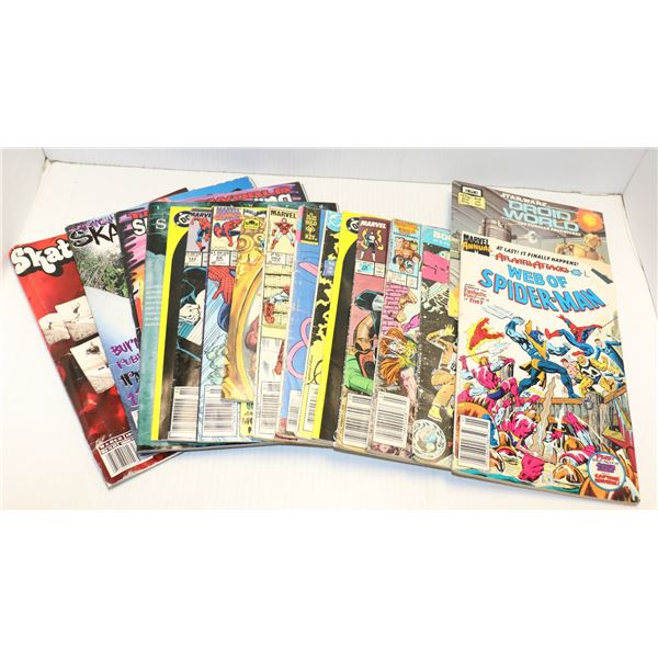 ASSORTED VINTAGE COMICS AND MAGAZINES