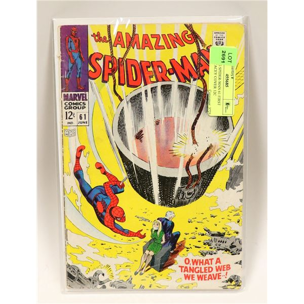 AMAZING SPIDER-MAN 61 FIRST GWEN STACEY COVER 12C