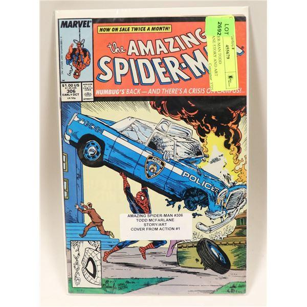 1988 SPIDER-MAN TODD MCFARLANE STORY AND ART