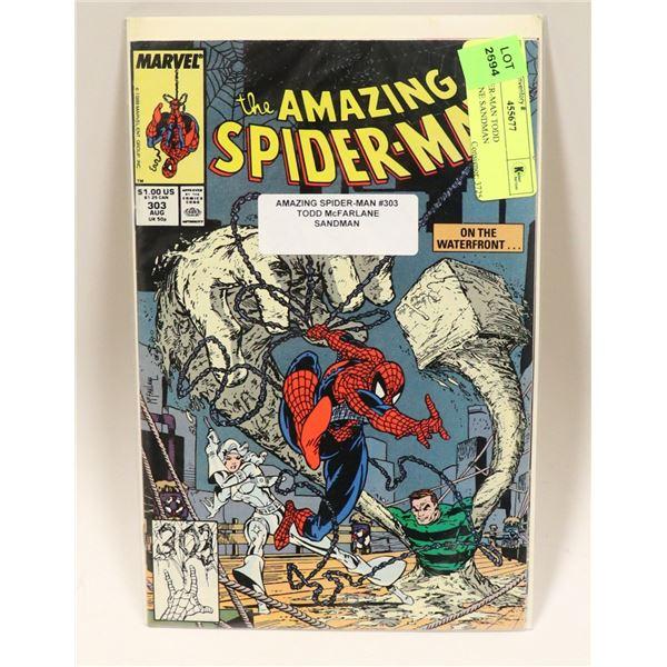 1988 SPIDER-MAN TODD MCFARLANE SANDMAN