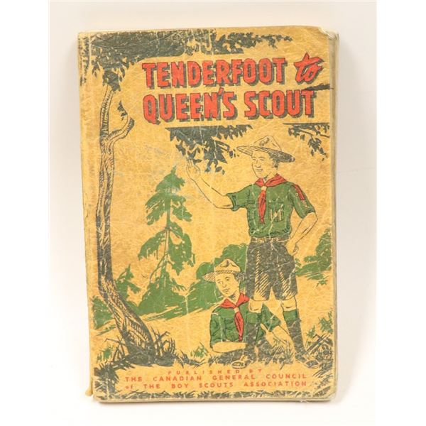 1952 BOY SCOUT MANUAL TENDERFOOT TO QUEEN SCOUT