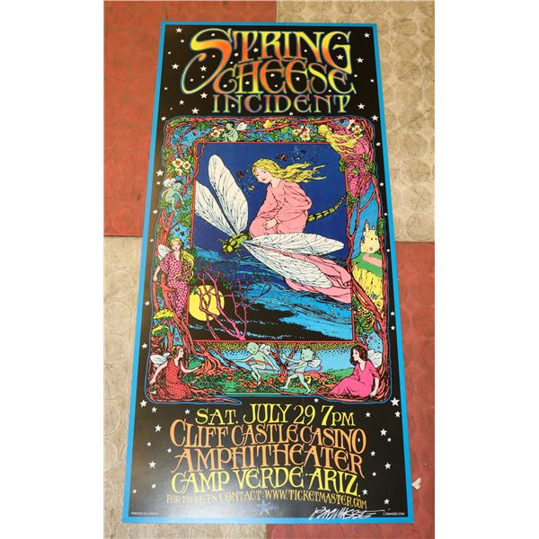 SPRING CHEESE INCIDENT CONCERT POSTER SIGNED BOB