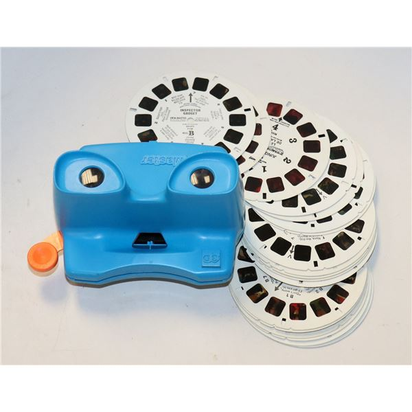 1960S VIEW MASTER WITH REELS