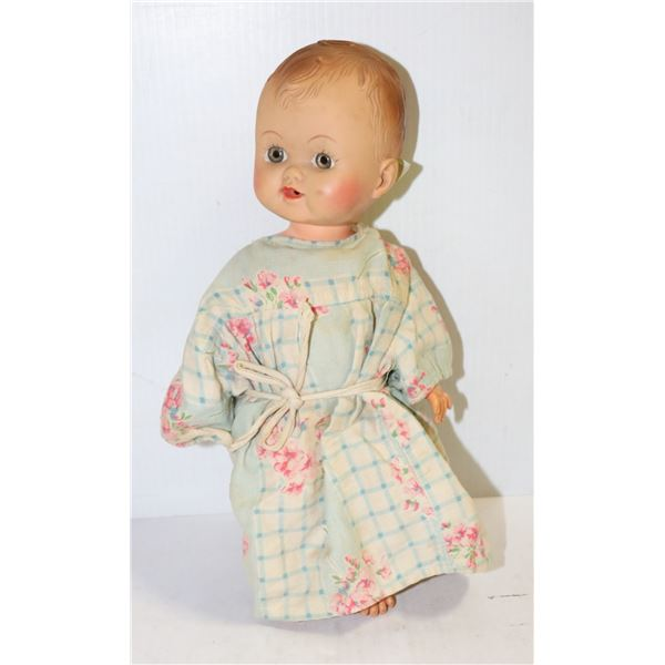 1950S STAR BRAND SIPPING DOLL BLUE DRESS