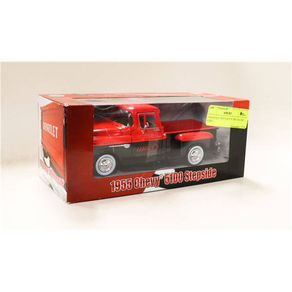 1/24 SCALE 1955 CHEVY TRUCK DIE CAST