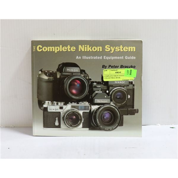 COMPLETE NIKON SYSTEM COLLECTIBLE BOOK