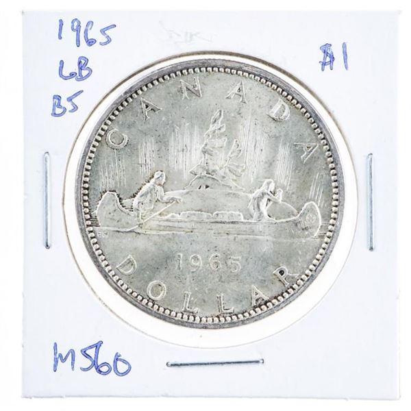 1965 Canada Silver Dollar LB/B5