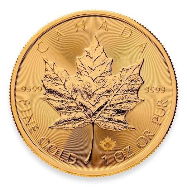 Prestige - Royal Canadian Mint .9999 Fine  Gold 1oz Maple Leaf with Special Maple Privy.