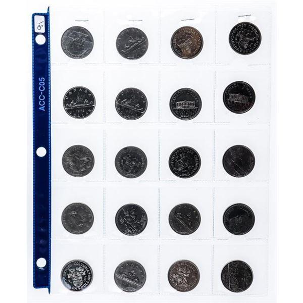 Group of 20 Canada Nickel Dollars