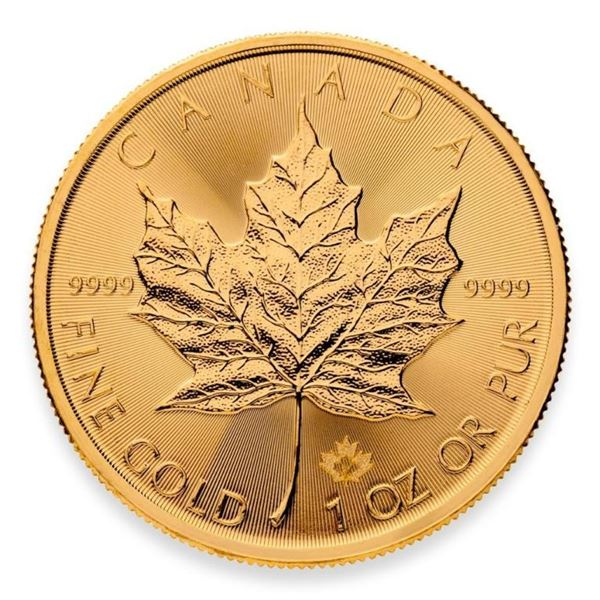 Prestige - Royal Canadian Mint .9999 Fine  Gold 1oz Maple Leaf Round with Special Maple  Privy. High