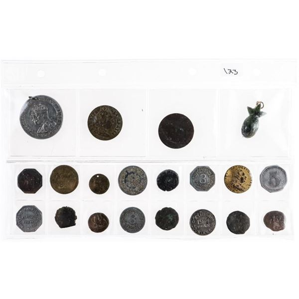 Estate Group of 20 Tokens Coins etc.