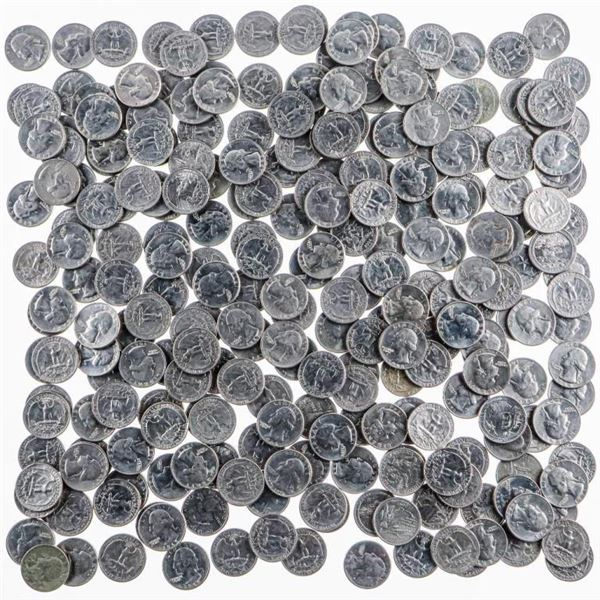 Estate Bag Lot of 272 US Coins 1960-1980 Face  Value $68.00 USD