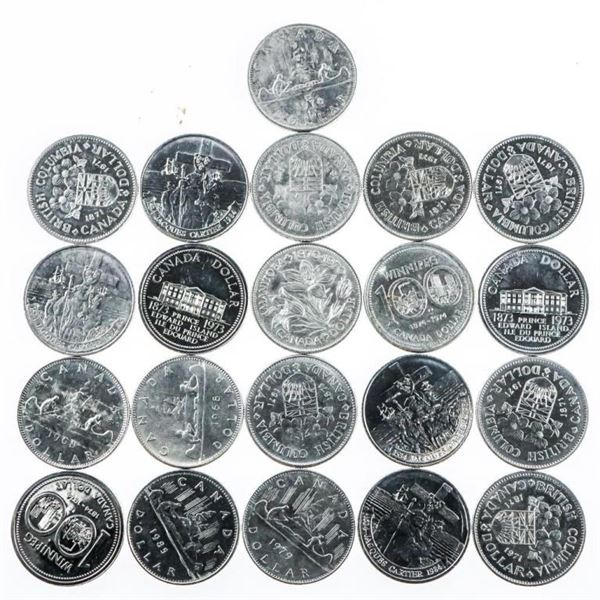 Lot 25 Canada Nickel Dollars