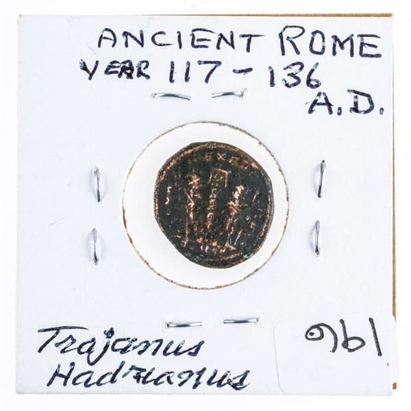Ancient Rome Coin 117-136AD