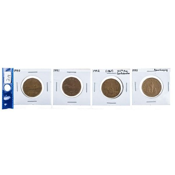 Group 4 Canada $ 1 Coins - Special Issues