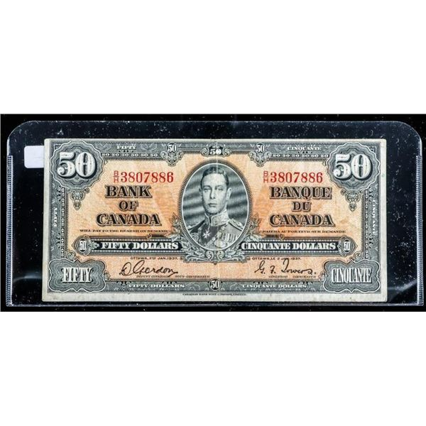 Bank of Canada 1937 $50