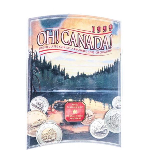 1999 OH Canada UNC Coin Set in A case