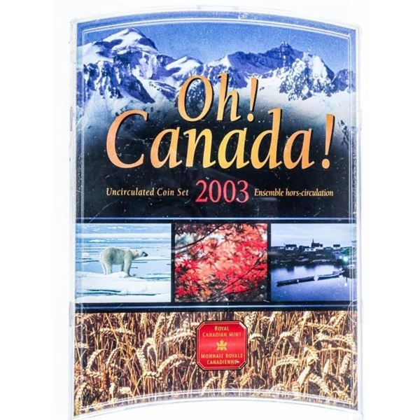 2003 RCM Oh Canada UNC Mint Set