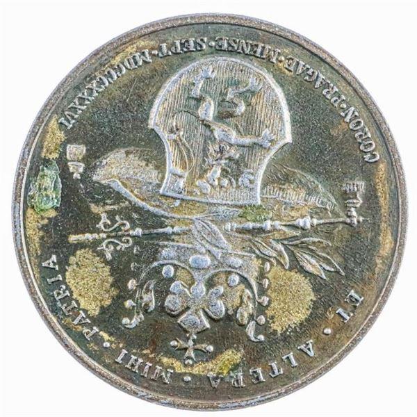 Maria Anna Augusta Ferdinand: Coronation  Medal 1836 German Empress