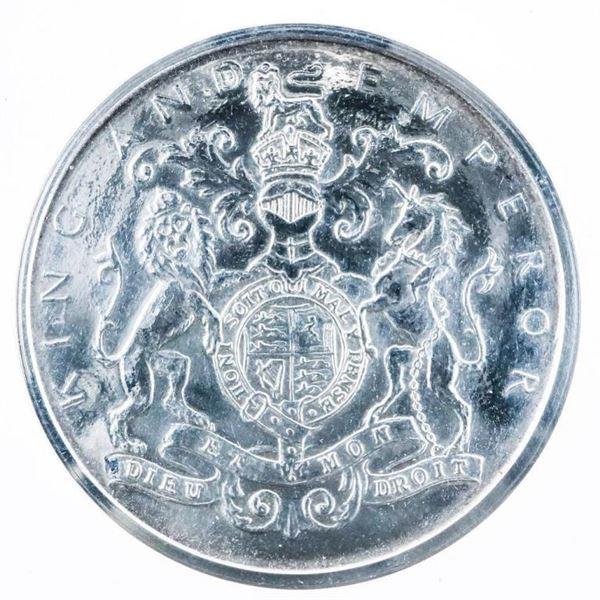British Historic a Medal 1936-6  BRIT-BHM-Silver Edward-VILCORONATION - Spink  & Son Ltd. Original C