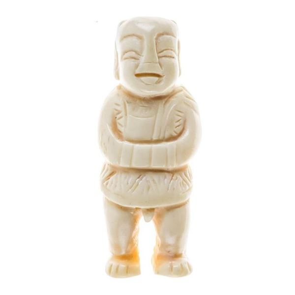 Hand Carved Ivory Sculpture