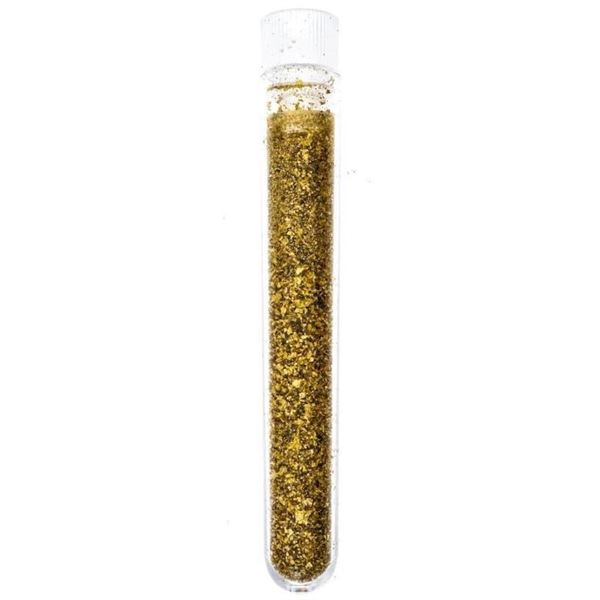 Test Tube of 24kt Pure Gold.