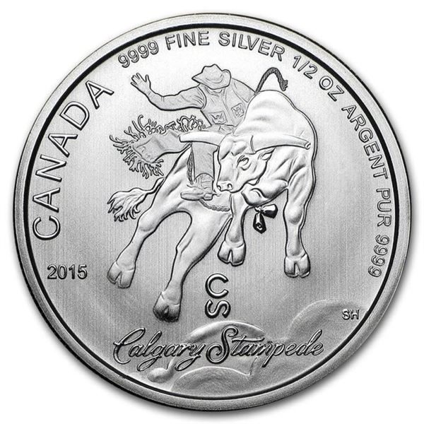 Calgary Stampede 2.00 Fine Silver Coin.  (.9999). Sold Out.