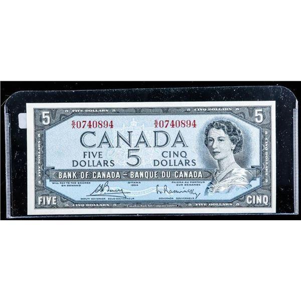 OLMSTEAD ORIGINAL 1954 $5 Choice UNC