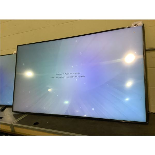 """SAMSUNG 75"""" TV MODEL QN75Q60RA WITH REMOTE & CORD NO STAND"""