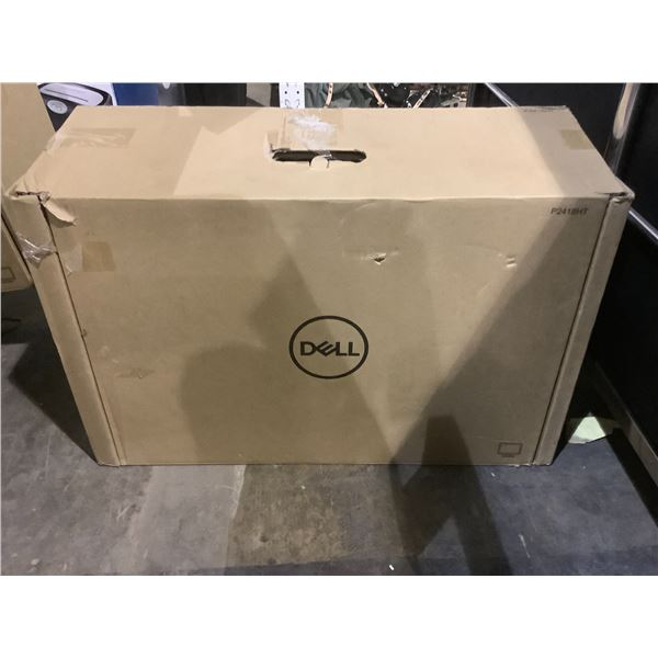 DELL 24 FULL HD ANTI GLARE TOUCH MONITOR MODEL P2418HT WITH CORD AND STAND