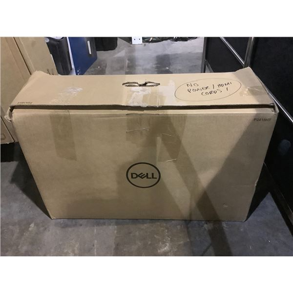 DELL 24 FULL HD ANTI GLARE TOUCH MONITOR MODEL P2418HT WITH STAND NO CORD