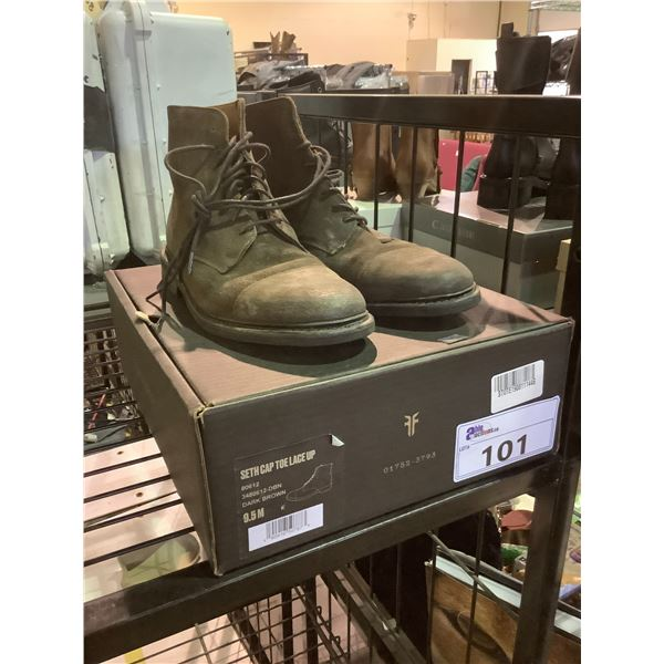 FRYE SHOES WITH BOX SIZE 9.5