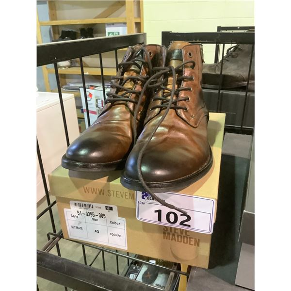 STEVE MADDEN SHOES WITH BOX SIZE 43