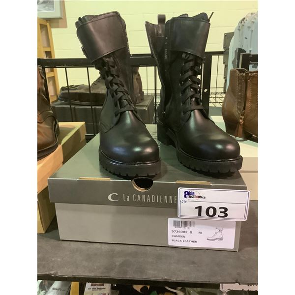 C LA CANADIENNE BOOTS WITH BOX SIZE 9